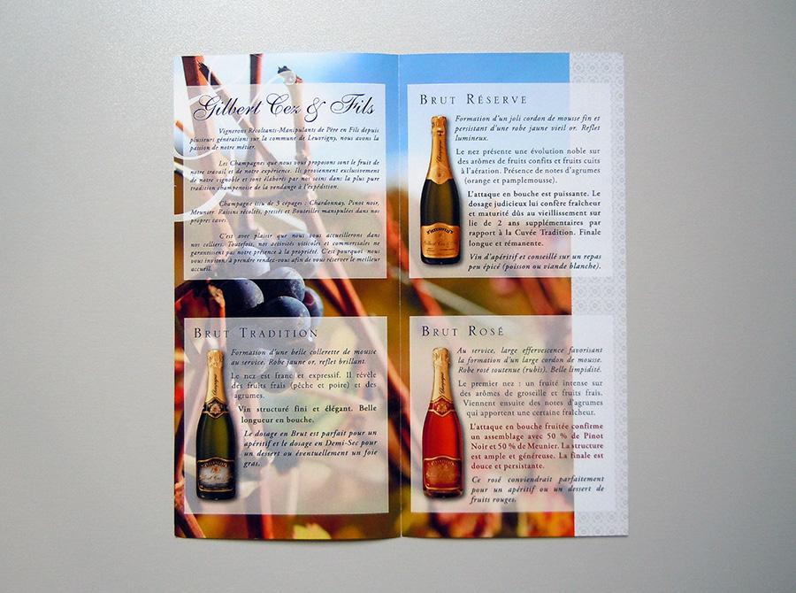 Champagne Gilbert Cez & Fils
