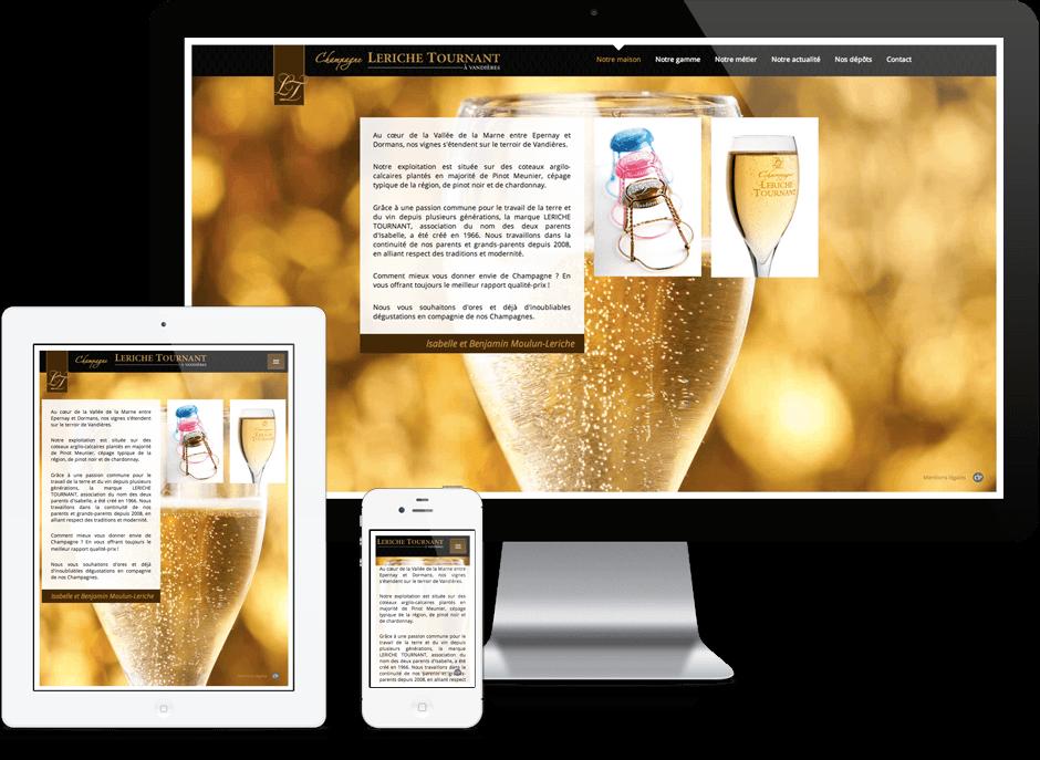 Champagne Leriche Tournant